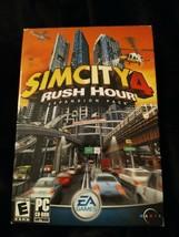 SIMCITY 4 Rush Hour Expansion Pack Sealed Box 2003 EA Sim City Builder S... - $9.60