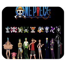 Mouse Pads One Piece Japan Manga Series Character Logo Design Fantasy Mousepads - $6.00