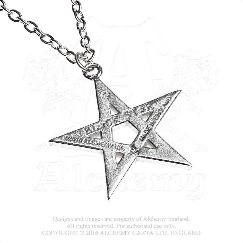 Black Star Pendant by Alchemy Gothic