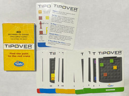 Game Parts Pieces TipOver Crate Game Thinkfun Card Set - $6.83