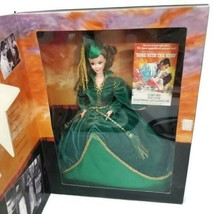 Scarlett O'Hara Barbie Hollywood Legends Green Velvet Gown Gone with the Wind - $28.04