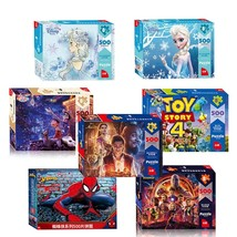 Disney Marvel Toy Puzzle Avengers 500 Pieces of Paper Adult Intelligence Box Puz - $27.20