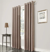 "Allen + Roth Taventry Grommet Top One Panel Curtain 50""x84"" Linen 0672010 - $25.00"