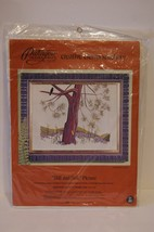"""Paragon Creative Crewel Stitchery """"Hill and Dale'' Picture - $18.47"""