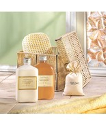 Vanilla Milk Bath Gift Set in Cord Box - $23.23