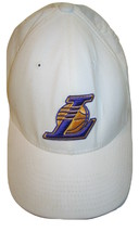 Nike Team Vintage Los Angeles Lakers Collector NBA White Baseball Mens C... - $34.64