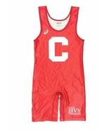 Asics Cornell Big Reds Ivy League Wrestling Singlet Men's Large Red JTS400 - $267.30