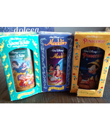 Burger King Walt Disney Classic Cup Collector Series Set of 3 - $15.00