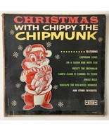Christmas with Chippy the Chipmunk LP Vinyl Record Album, Silver Seal  - $18.95