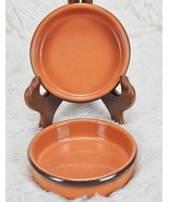 ARBRESA Terra Cotta Flan Dipping Bowls Dishes Made in Spain Set Of 2 - $17.82