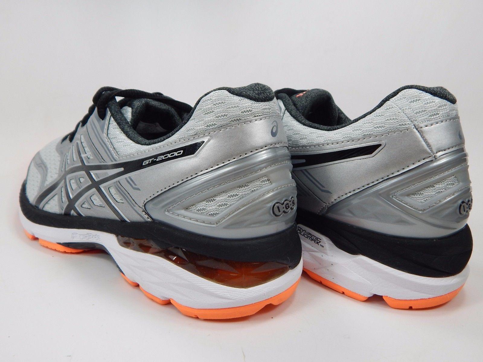Asics GT 2000 v 5 Men's Running Shoes Sz US 9.5 M (D) EU 43.5 Black Silver T707N