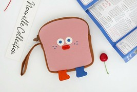 Brunch Brother Run Toast Bag Pouch Pencil Case Organizer (Strawberry Toast) image 2