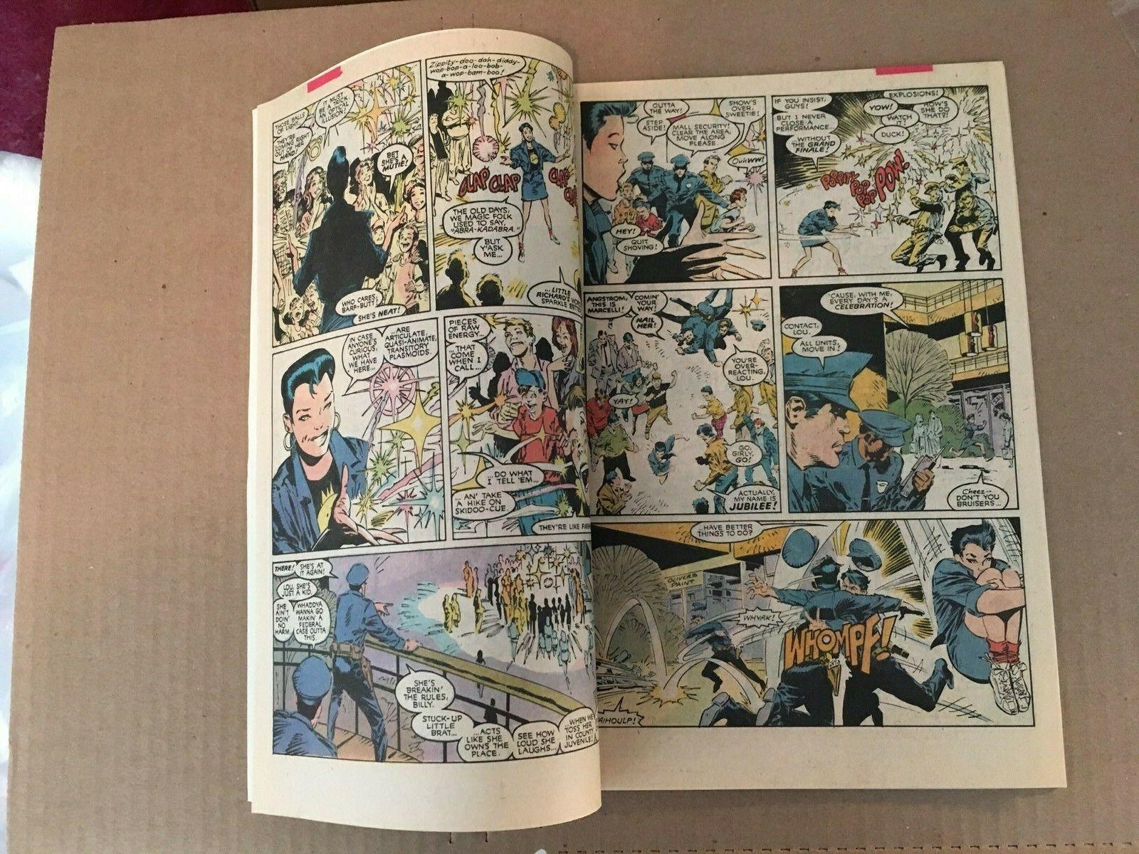 Uncanny X-Men #244 Marvel Comic Book VF+ Condition 1st Jubilee 1989