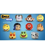 NEW McDonald's 2017 Emoji Movie Plush Happy Meal Toy #5 JAILBREAK New In... - $3.75