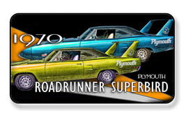 1970 Plymouth Roadrunner Superbird Magnet-Package of Two - $8.42