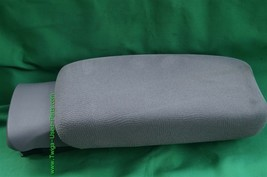 06-11 Honda Civic Sliding Armrest Arm Rest Center Console Lid Cover Fabric Gray image 1