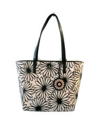 Kate Spade Rosa Daisy Medium Tote ~ Black & White Floral ~ NWT - $144.95