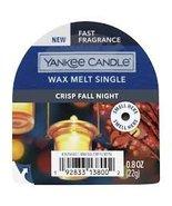 Yankee Candle Crisp Fall Night Wax Melt Singles Six (6) - $18.00