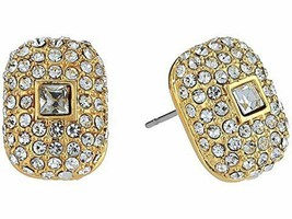 VINCE CAMUTO GOLD TONE PAVE STUD EARRINGS NWT - $32.00