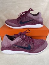 Nike Free RN Flyknit 2018 942839-600 Raspberry Red Running Shoes Womens ... - $99.00