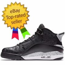 NEW @ Men's Nike Air Jordan Dub Zero Black White Wolf Grey Oreo 311046-002 - $82.16