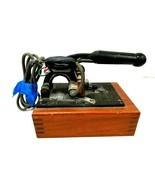 Vintage Franklin Embosser Hot Foil Stamp Imprinting Embossing Machine Pa... - $121.54
