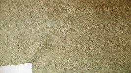 Green Swirl Print Chenille Upholstery Fabric  1 Yard  F1028 - $49.95