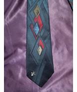 Don Loper Beverly Hills Tie - Modern Diamond Design Vintage - $19.80