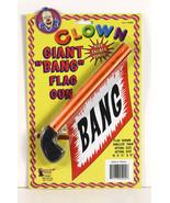 DELUXE GIANT CLASSIC CLOWN BANG GUN HALLOWEEN COSTUME ACCESSORY - $5.79