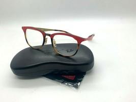 Ray-Ban ORX7112 5730 HAVANA/RED Eyeglasses Frames 51-20-140MM - $77.57