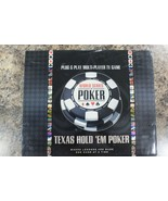 Texas Hold 'em Poker Excalibur Plug and Play Multi-Player TV Game NEW 6 ... - $29.69