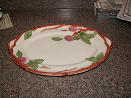 Very Rare Large (14 1/2 in) FRANCISCAN PLATTER—Apple Design—Stafforshire... - $9.95