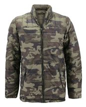 Men's Reversible Camo Lightweight Insulated Quilted Packable Puffer Zip Jacket image 3