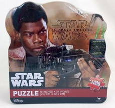 Star Wars The Force Awakens Finn Jigsaw Puzzle 1000 Pcs Metal Tin Sealed... - $9.79