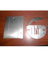 Singer 258 ZZ Throat Plate #37996 & Slide Plate #44516 w/Friction Spring... - $20.00
