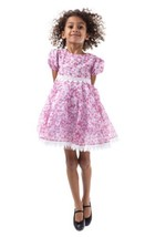 Girls pink floral lace dress NWT BOUTIQUE 6X Brand New - $55.92