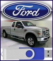 Ford F250 F350 F450 F550 Service Manual 2006 2007 2008 2009 2010 2011  USB Drive - $18.00