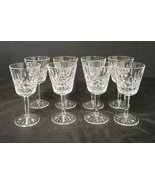 Eight Waterford Wine Stems * Lismore Pattern - $178.12