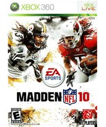 Madden NFL 10, Football, Xbox 360, (2009) Electronic Arts, Xbox Live - $9.99