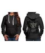 Lamb Of God Logo Classic Hoodie Women Black - $31.99