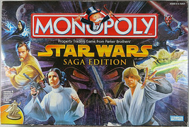 MONOPOLY STAR WARS SAGA EDITION 2005 Property Trading Game From Parker B... - $50.00