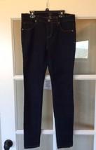 High Waist Skinny Jeans Dark Wash Womens Junior 5/6 Rue21 New - $16.99
