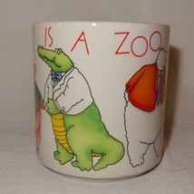 This Place is a Zoo Coffee Mug 9 oz Cup Russ Berrie Work Office Boss Employee - $21.30