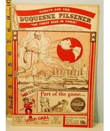 1944 Pittsburgh Pirates Baseball Score Card Cardinals Bucs Win 8-4 Aug. ... - $39.11