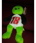 "Nascar Team Beans Speed Bobby Labonte 18 Plush 8"" Beanbag Teddy Bear NWT... - $14.84"