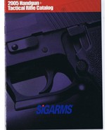 ORIGINAL Vintage 2005 Sig Arms Handgun Catalog - $18.55