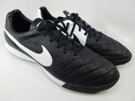 Nike Tiempo Legacy Turf TF 13 M (D) EU 47.5 Men's Soccer Shoes Black 631517-010