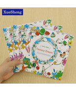 XUES® 24 Pages Fantasy Dream English Edition Coloring Book For Children ... - $1.17