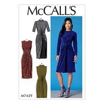 McCall Patterns M7429A50 Twist-Front Dresses - $4.85