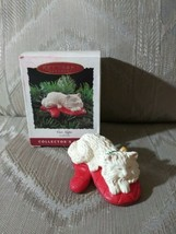Hallmark Keepsake Ornament Cat Naps Clip On #2 Collectors Series With Bo... - $12.86